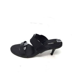 Dkny Shoes Womens Sandals Size Us 8 Black Slip On Heels